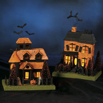 Medium Vintage Haunted Houses