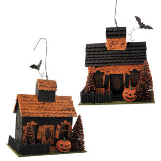 Haunted House Ornaments