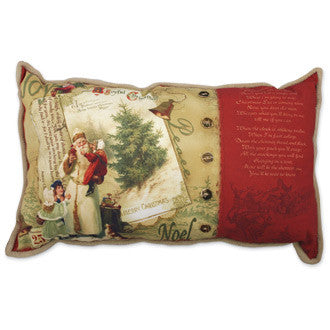 Jolly Old St. Nicholas Pillow