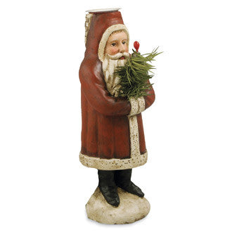 Belsnickel Candle Holder - Bethany Lowe Santa