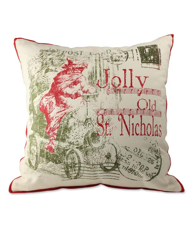 Jolly Old St. Nick Pillow