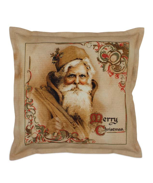 Regal Santa Pillow