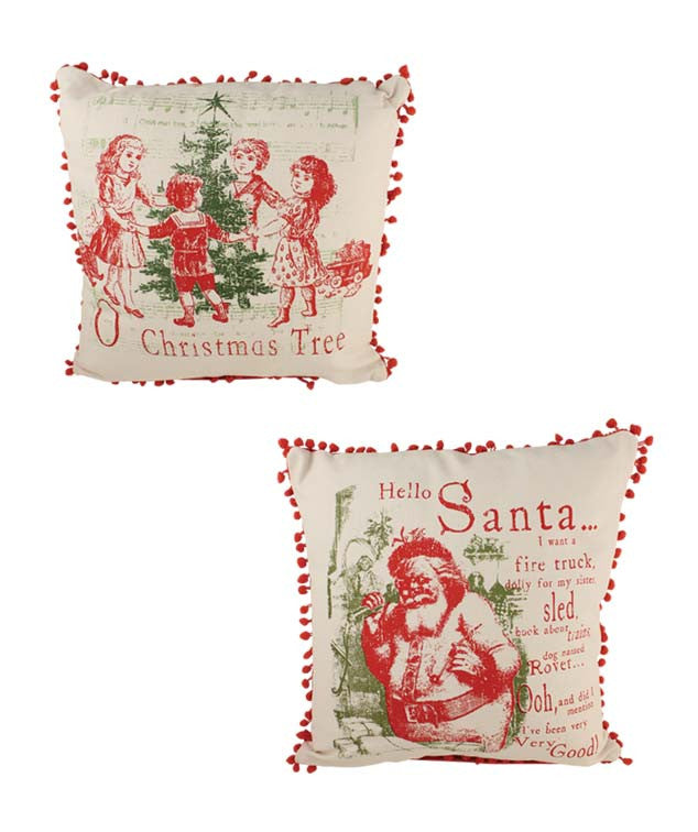 All I Want For Christmas Pillows - Bethany Lowe