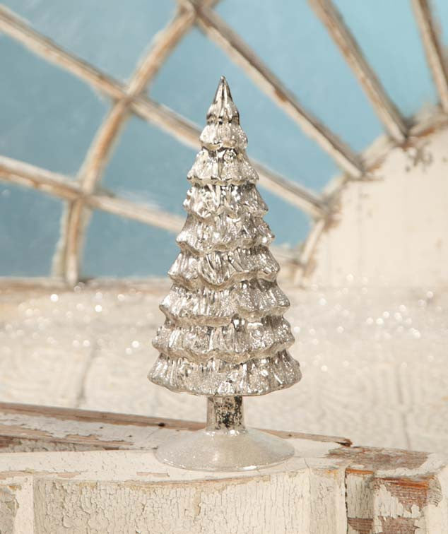 antique silver mercury tree bethany lowe christmas - Antique Silver Christmas Decorations