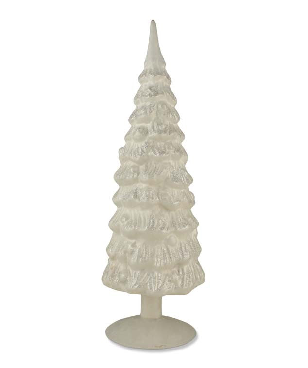 "Antique Frost White Tree 15"" - Bethany Lowe Christmas"