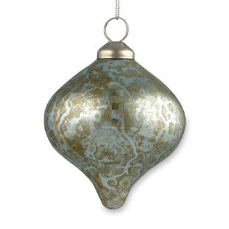 Antique Blue Kismet Ornament