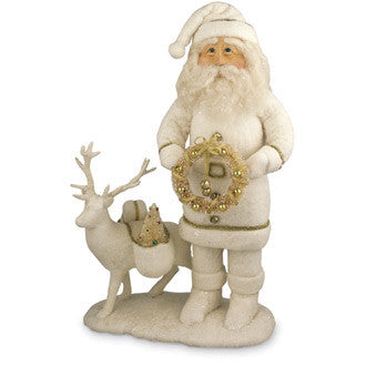 Father Frost with Reindeer
