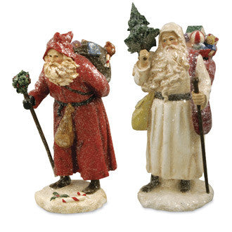 Father Christmas Figurines
