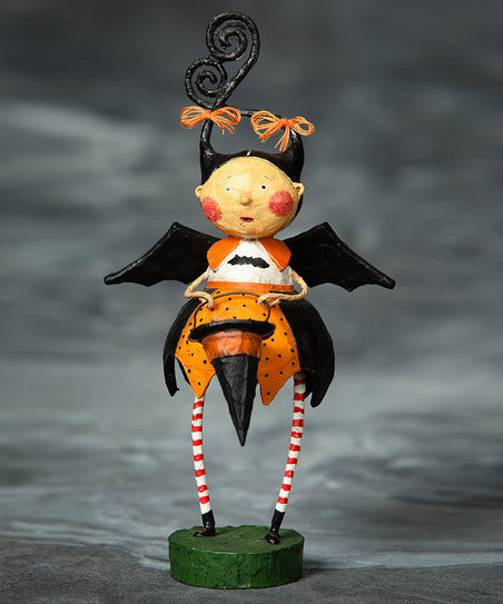 Esperilla Bat Witch Girl by Lori Mitchell