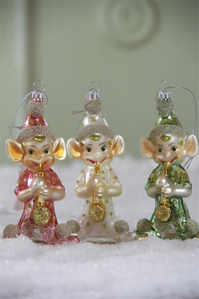 Kitsch Elf Ornaments