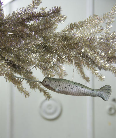 recycled paper narwhal - Narwhal Christmas Decoration