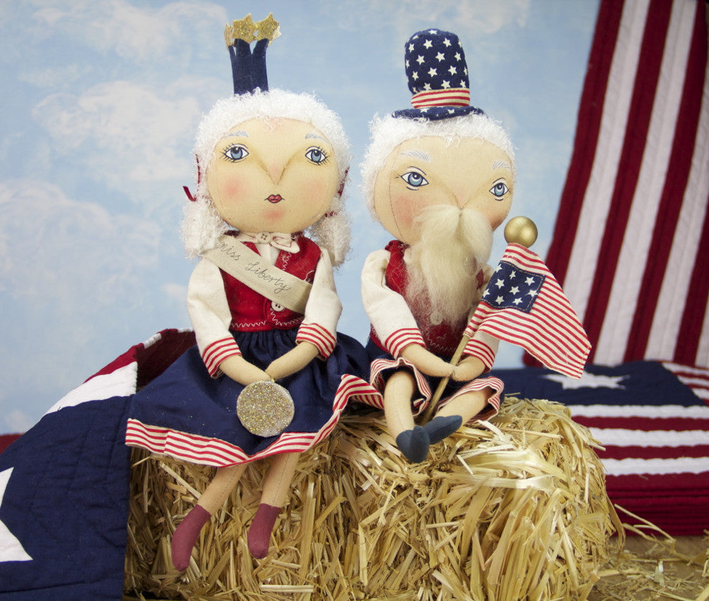 Samuel Liberty & Little Miss Liberty Dolls by Joe Spencer