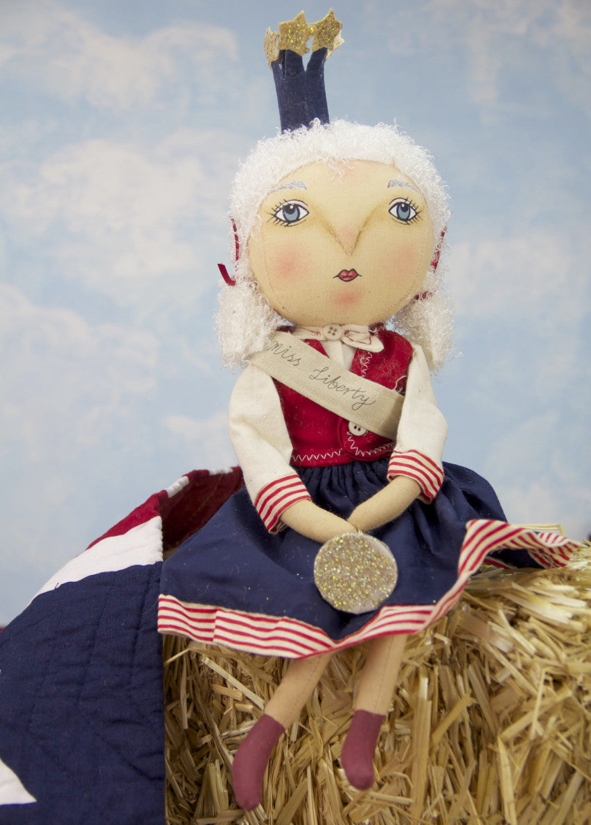 Joe Spencer Little Miss Liberty Doll