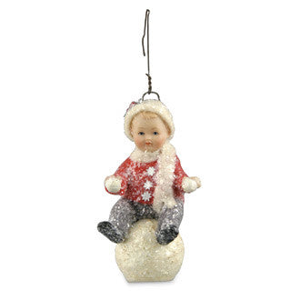 Snowball Boy Ornament