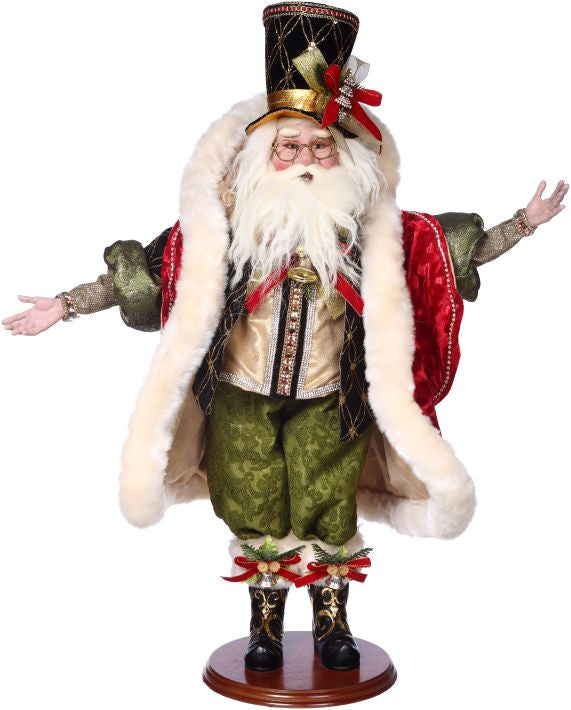 Mark Roberts Santa On The Town Figurine