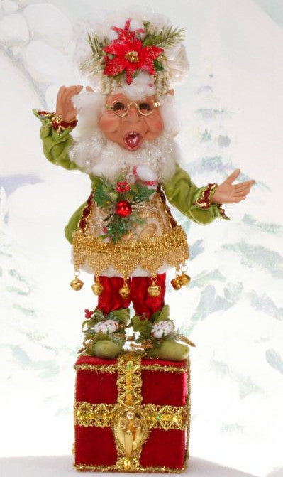 Mark Roberts Sugar & Spice Elf Stocking Holder