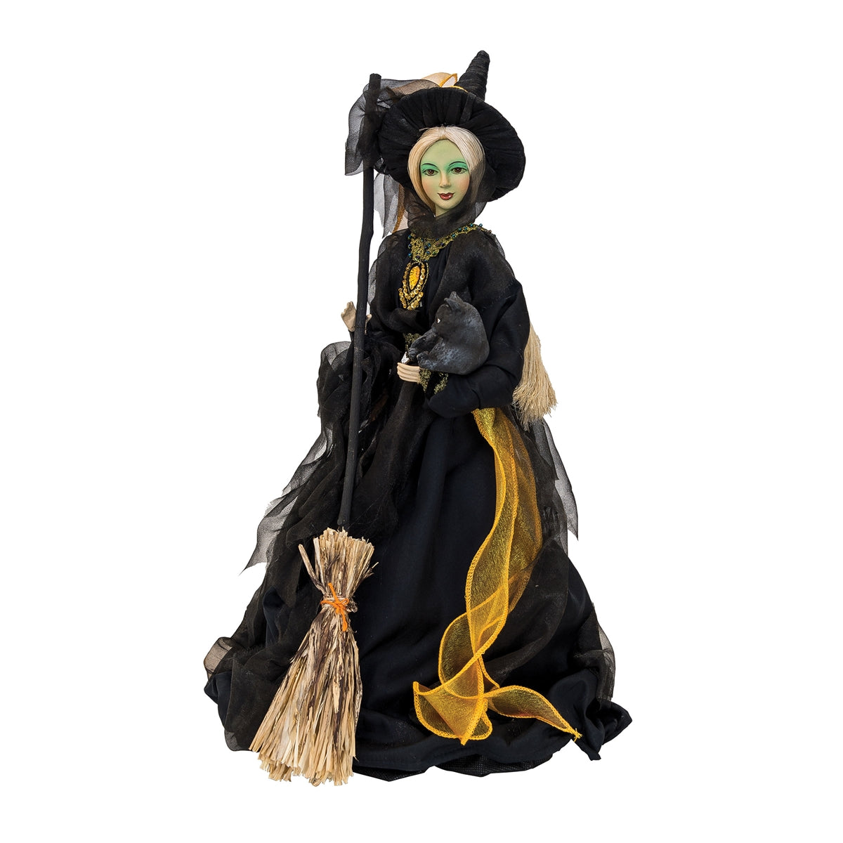 Mary Bradbury Salem Witch Doll Figurine