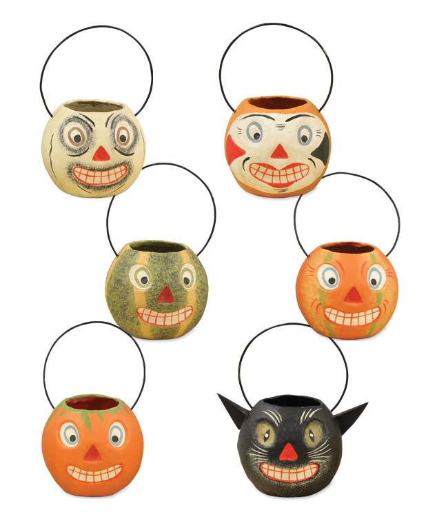 Mini Vintage Halloween Buckets by Bethany Lowe