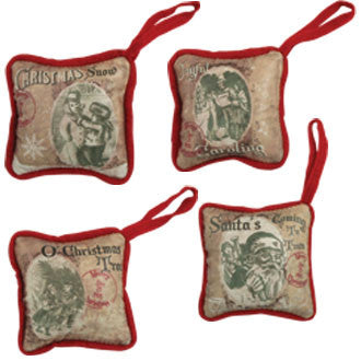 Christmas Pillow Ornaments