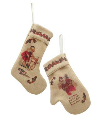 Stocking and Mitten Ornaments