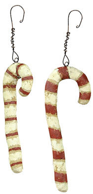 Candy Cane Ornament - Set of 6