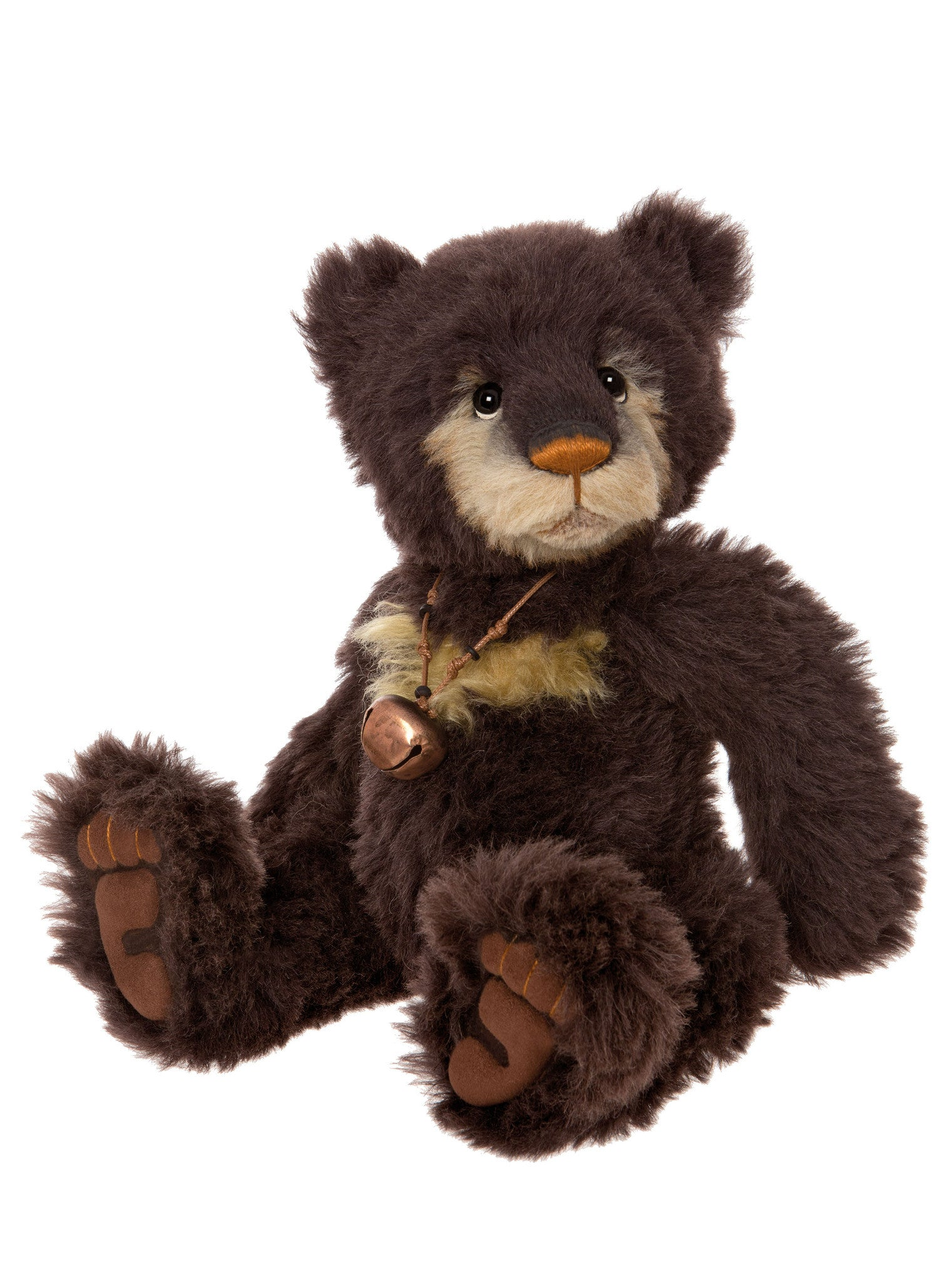 Charlie Bears Pumpernickel Mohair Teddy Bear