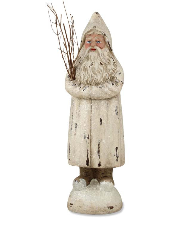 Ivory Belsnickel Santa Small