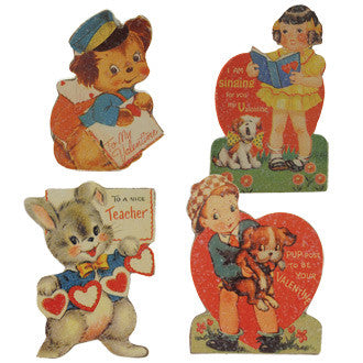 Mini Retro Child Valentine Boards