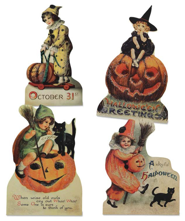 Vintage Halloween Child Dummyboards