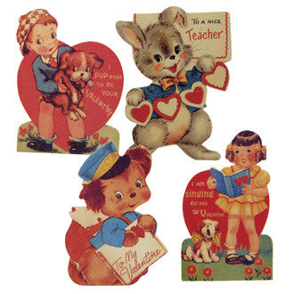 Retro Child Valentine Boards