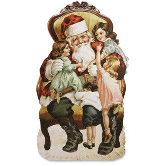 Santa with Children Dummy Board