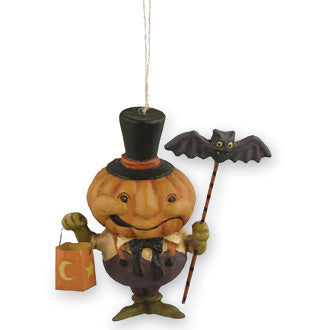 Pumpkin Imp Ornament