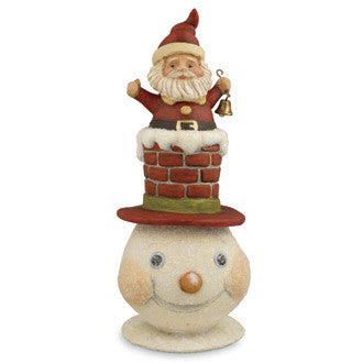 Chimney Top Hat Snowman