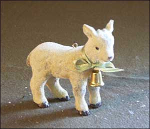 Small Goat Ornament