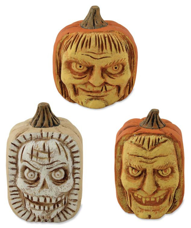 Scary Carved Pumpkins