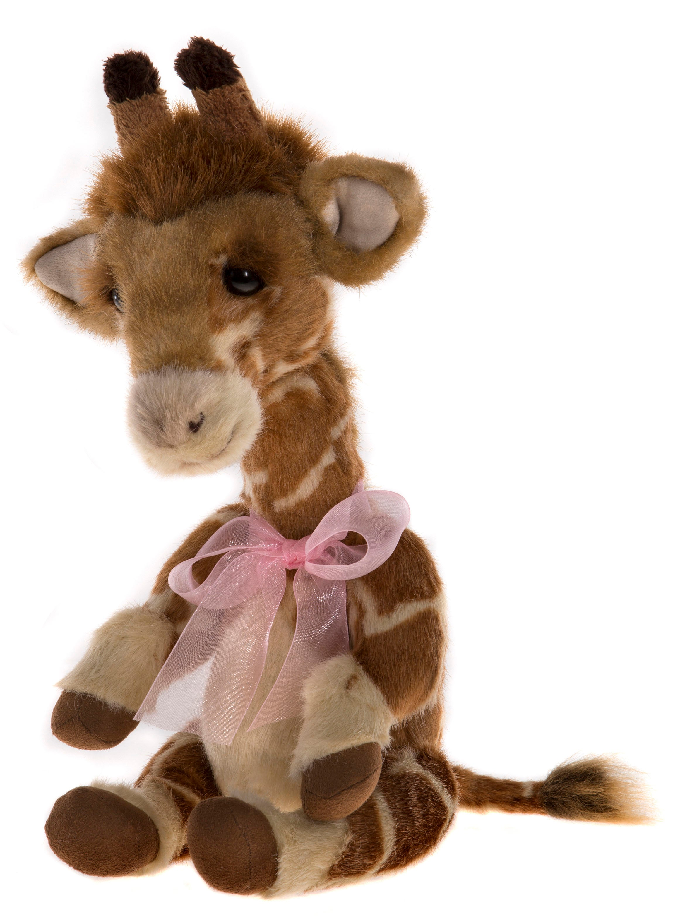 Stretch Giraffe - Jointed Stuffed Animal