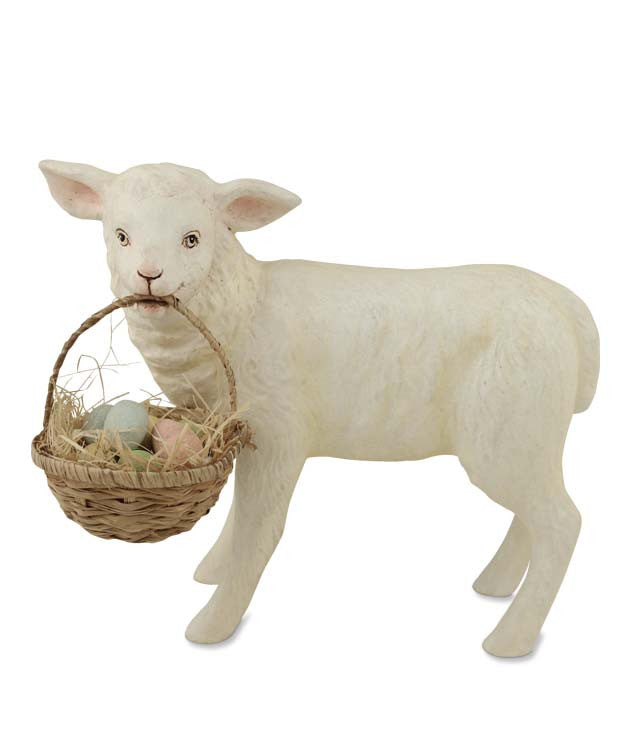 Easter Lamb With Basket
