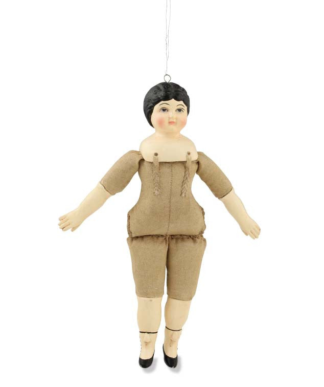 Vintage Doll Ornament