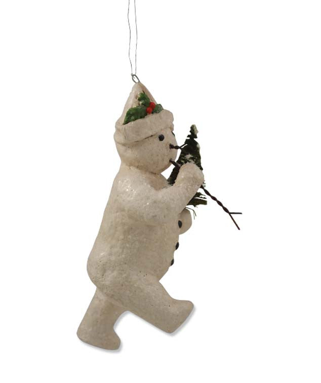 Marching Snowman Ornament