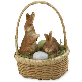 Little Bunnies in Basket
