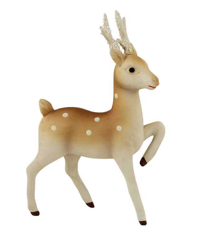 Vintage Woodland Fawn - Christmas Retro Reindeer