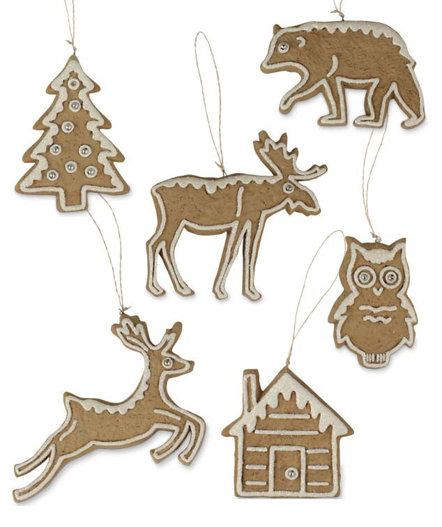 Woodland Cookie Ornaments