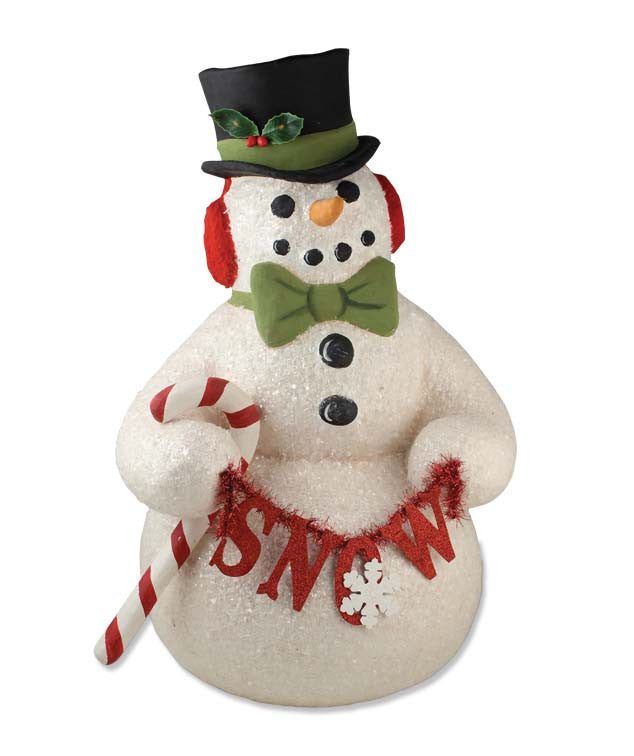 Dapper Top Hat Snowman