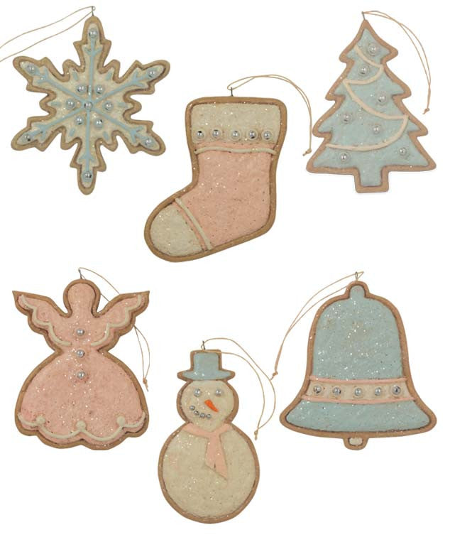 Pastel Cookie Ornaments