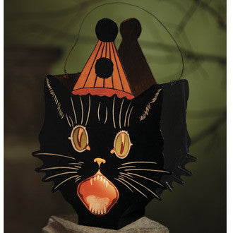 Party Sassy Cat Lantern
