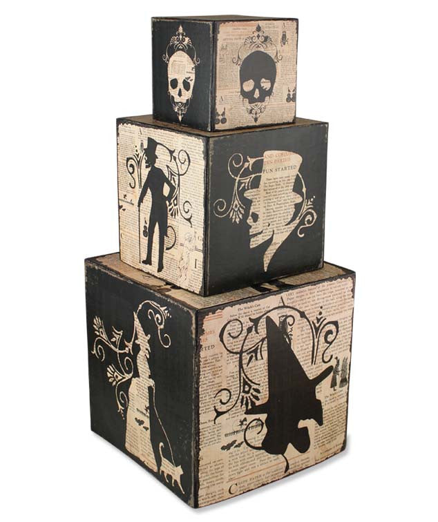 Haunted Nesting Blocks