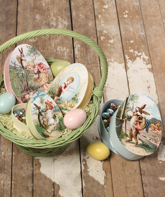 Nesting Eggs Treat Boxes