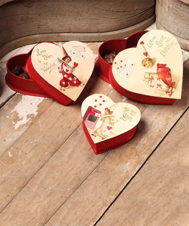 Valentine Nesting Treat Boxes