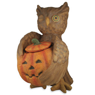 Large Hooty Owl Container