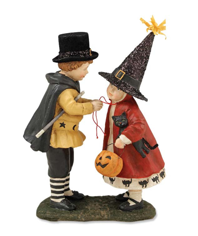 Trick or Treat Time Figurine Bethany Lowe Vintage Halloween